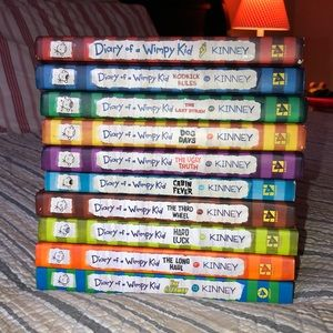 Diary of a Wimpy Kid Book Series Hard Back